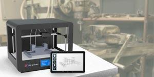 پرینتر سه بعدی فلزی در هوافضا