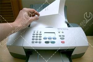 جمع شدن کاغذ در فکس ریکو