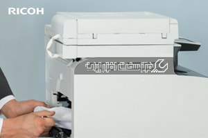 گیر کردن کاغذ در پرینتر ricoh