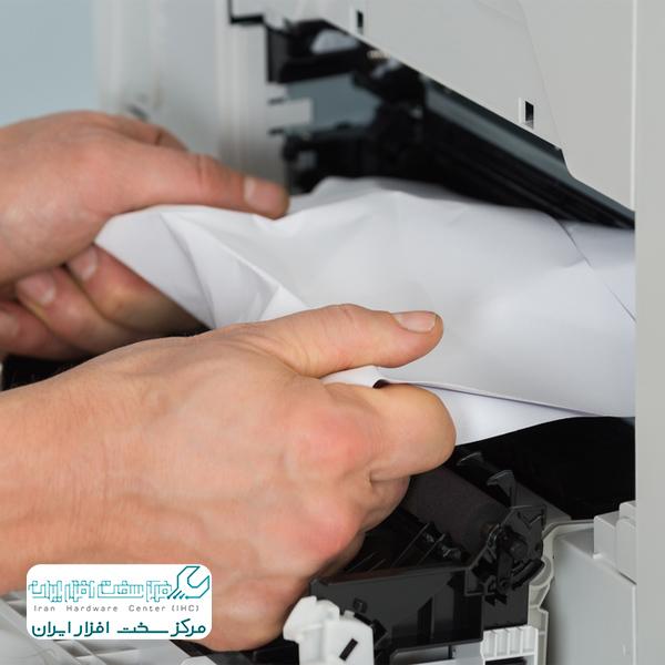 مچاله شدن کاغذ در دستگاه کپی ریکو