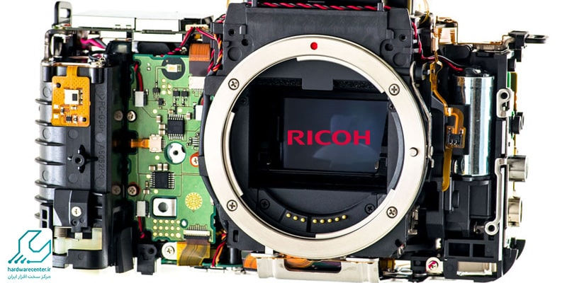 پیکسل سوخته دوربین ریکو